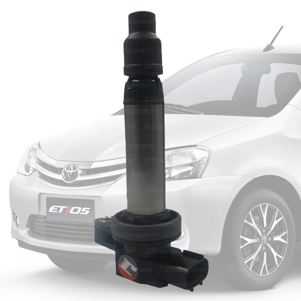 Bobina De Ignição Toyota Etios 1.3 1.5 Código Original 9091902263 GC4263 13684