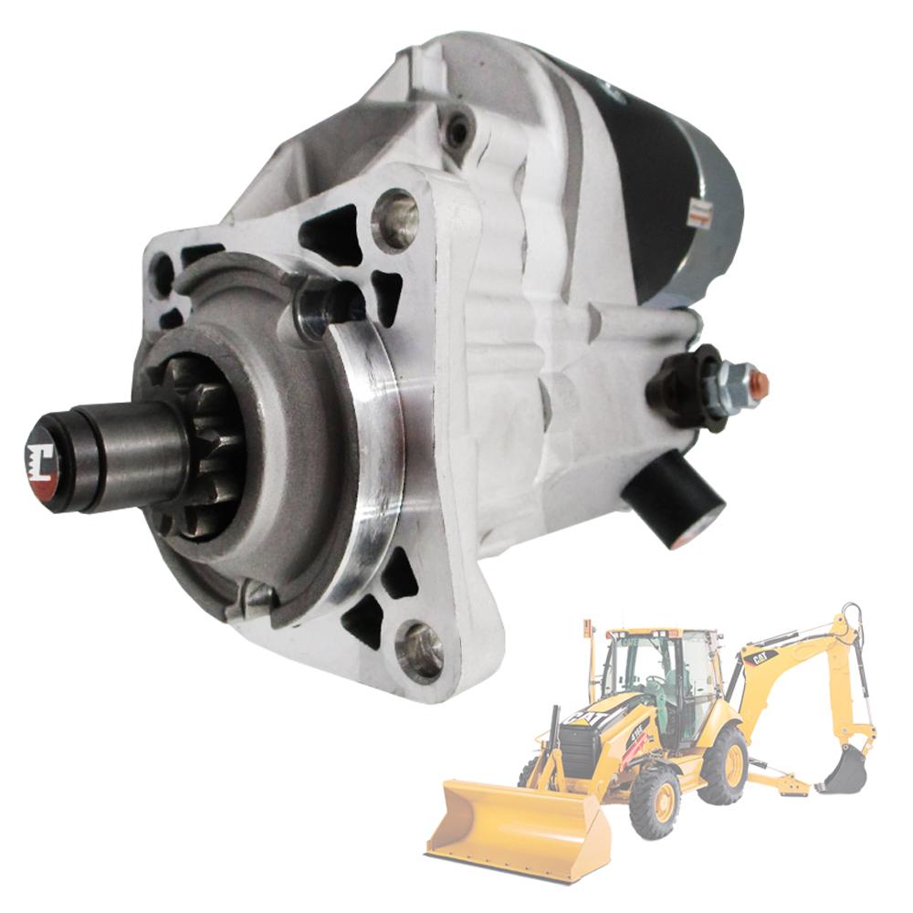 Motor de Partida para Caterpillar & Case & New Holland Motor Perkins Sistema Denso 1430535 1430538 1430539 1445590 3R7905 6T7001 6V0492 6T700 0R4319 OR4319 028000-0960 0280000960 128000-1060 1280001060 128000-1